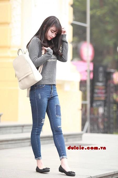 Quần Jean áo sơ mi nên mang giày gì (5)